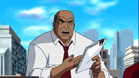 Perry White (Superman Doomsday)