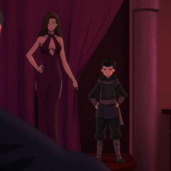 Talia and Damian.