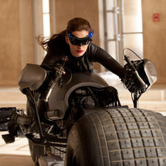 The first official image of Catwoman.