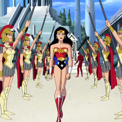 Dian is excommunicated from Themyscira.