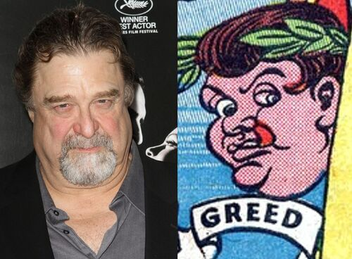 John Goodman Greed