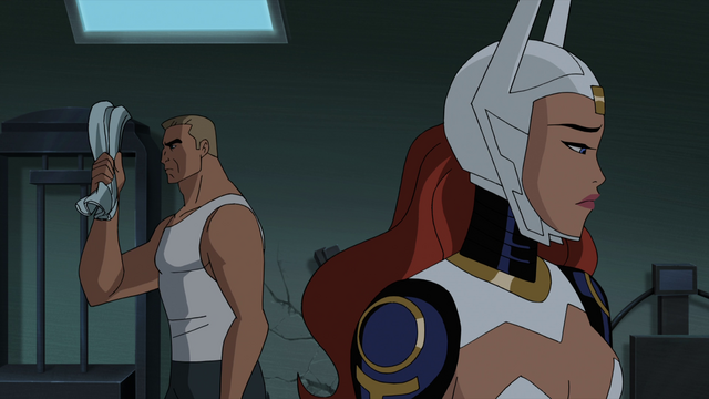 File:Wonder Woman and Steve Trevor JLG&M 1.png