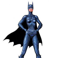 Concept art for Batgirl's costume.