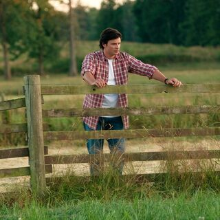 Clark on the Kent farm in <i>Smallville</i>.
