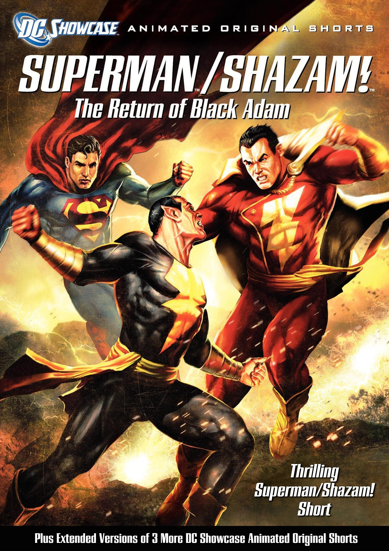 Superman Shazam! The Return of Black Adam