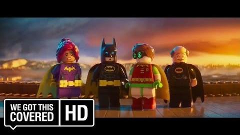 "The LEGO Batman Movie ""BFF"" TV Spot HD Will Arnett, Rosario Dawson, Ralph Fiennes"