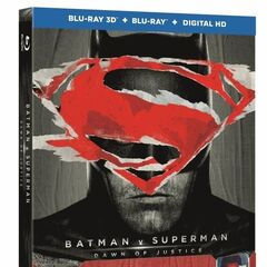 Batman v Superman: Dawn of Justice Blu-Ray 3D combo pack with Batman