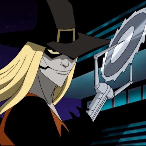 Ghoul prepares to attack the original Batman.