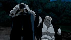 Batman and Solomon Grundy