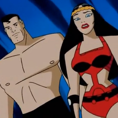 Barda and Superman think that Batman and Aquagirl are dead.