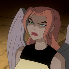 Hawkgirl at the time of Darkseid's attack.