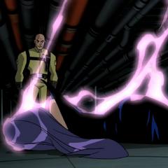 Lex Luthor defeats Tala.