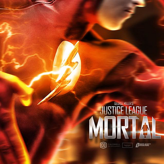 The Flash teaser poster by BossLogic Inc that was showed at ComiCon