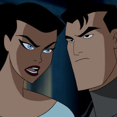 Bruce and Diana disguised as civilians.