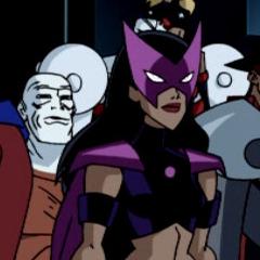 Huntress seen in her original costume.