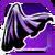 Icon Back Cape 001 Purple