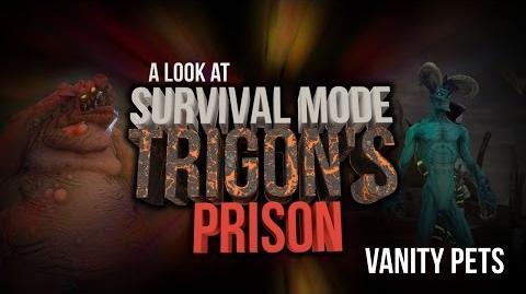 DCUO Survival Mode Trigon's Prison Pets