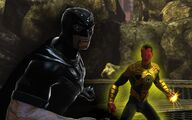 Black Hand and Sinestro (Blackest Day)