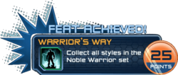 Feat - Warrior's Way