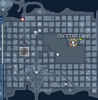 Metropolis Old STAR Labs Adept Acrobat Challenge