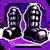 Icon Feet 005 Purple