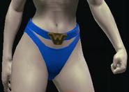 Wonder Girl's Mystic Belt equipped