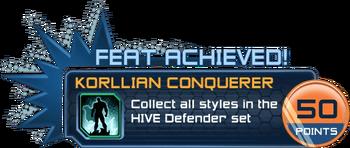 Feat - Korllian Conquerer