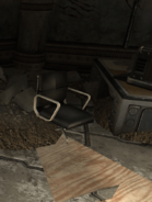 Leather Office Chair (Gotham University Warehouse)