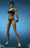 Iconic Sinestro Female
