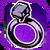 Icon Ring 003 Purple