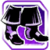Icon Feet 014 Purple