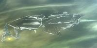 Amazonian Warship
