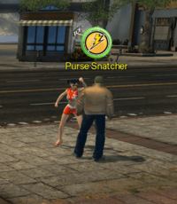 Heroic Acts - Purse Snatcher