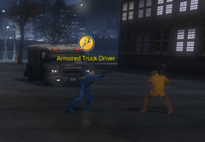 Villainous Acts - Armored Truck Driver