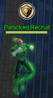 Panicked Recruit training