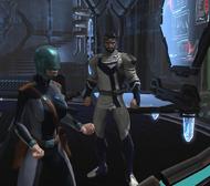 Brothers in Arms - Jor-El Noticing Intruders