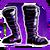 Icon Feet 006 Purple
