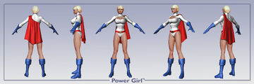DC ren icnChar PowerGirl multi