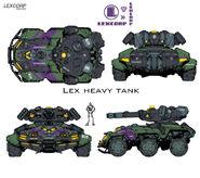 Lexcorp heavy assault tank by chuckdeel