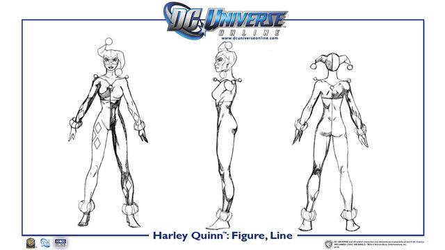 File:Harley Quinn body line.jpg