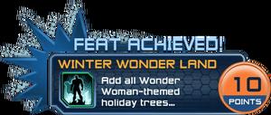 Feat - Winter Wonder Land