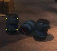 Sealed Fear Gas Barrels