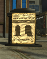 Central City Villain Bounty Poster