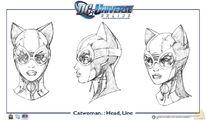 85414 dc con icnchar catwoman head line