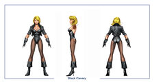 Black canary body