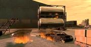 Terroranschlag auf Treibstoffdepot