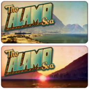 Alamosee-Ansichtskarten