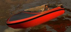Luis im Floater.