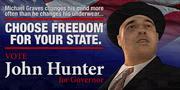 John Hunter Plakat