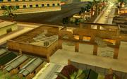 Cholo-Lagerhalle, zerstört, VCS